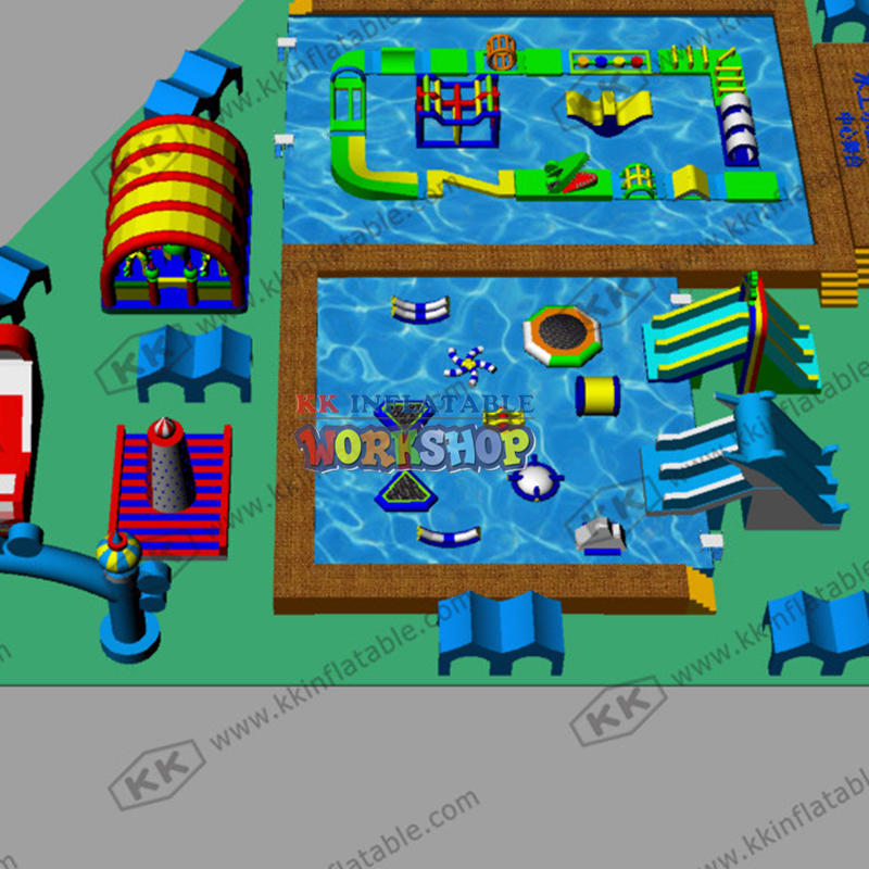 Customized Mobile Water Paradise