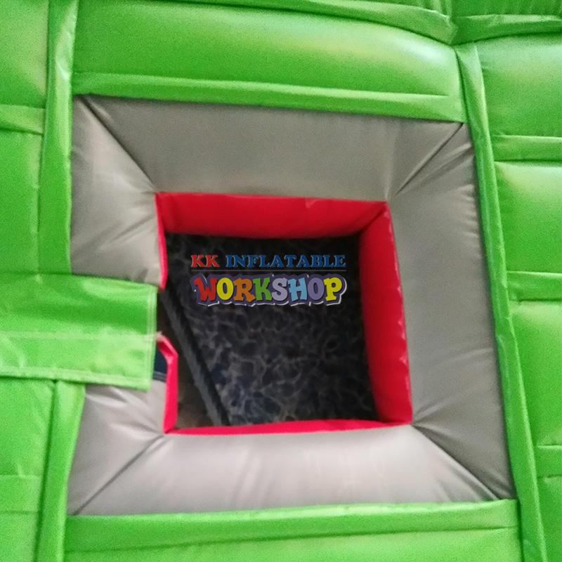 Bull riding inflatable cushion
