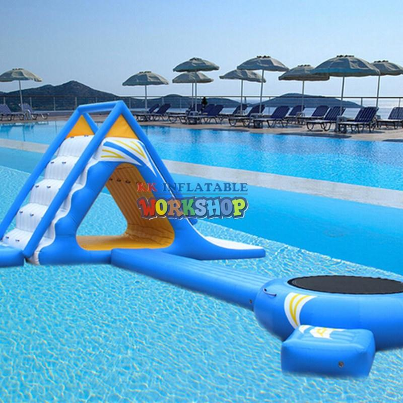 KK INFLATABLE creative blow up water slide supplier for parks