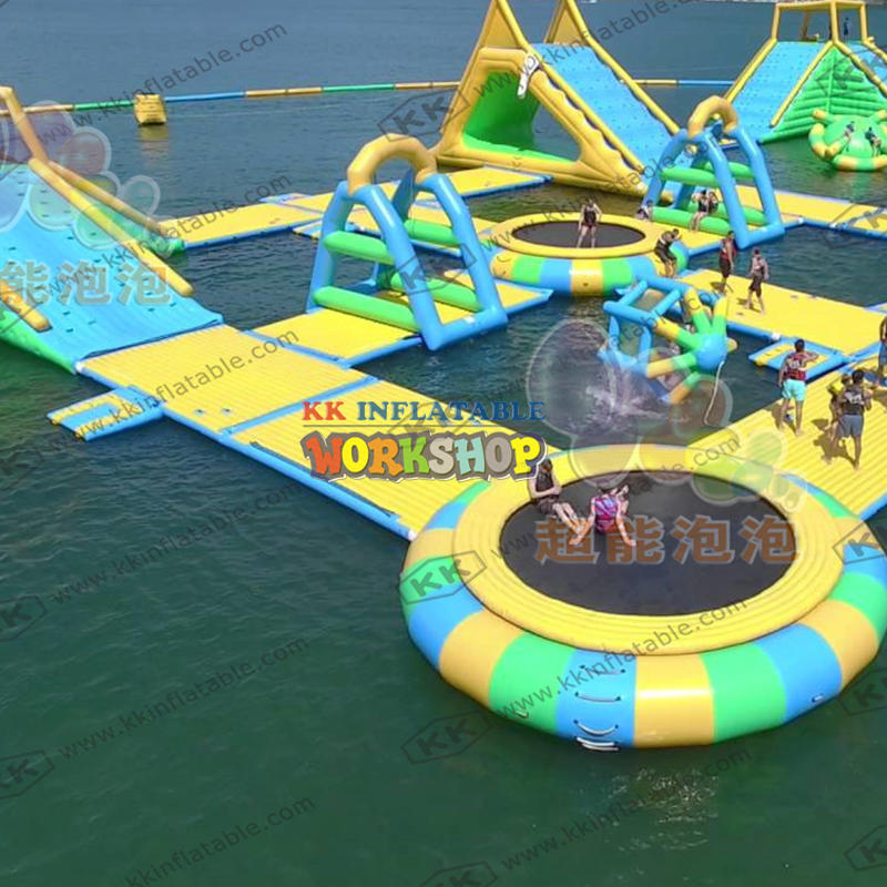 PVC inflatable water park