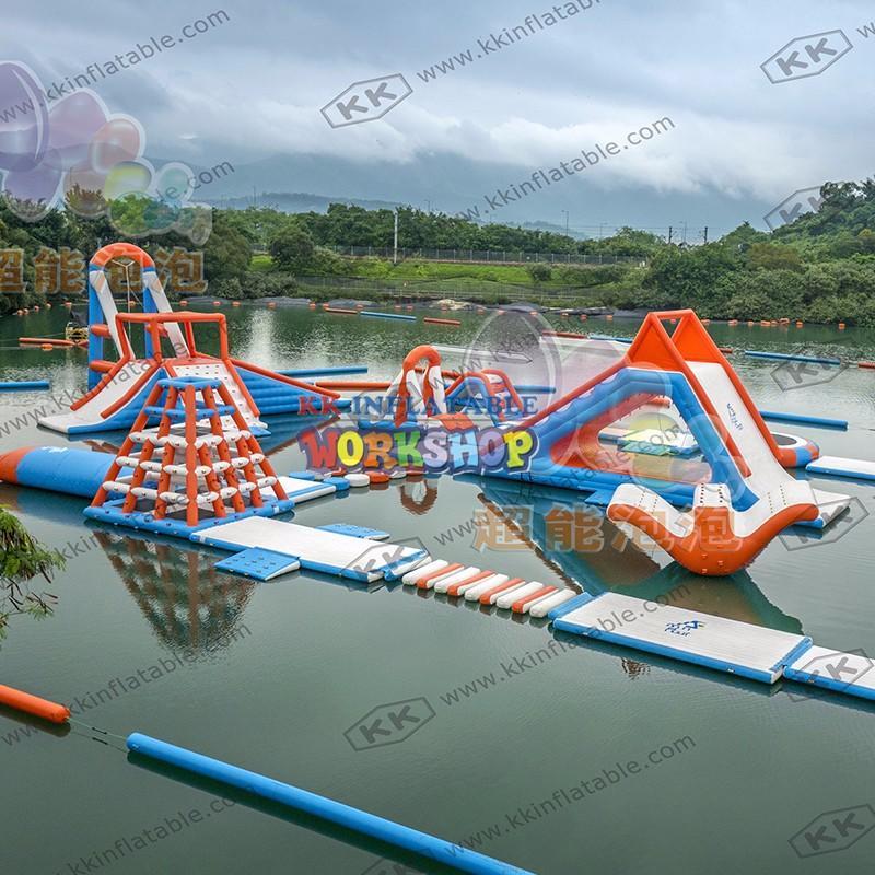 KK INFLATABLE creative design kids inflatable water park animal modelling for seaside