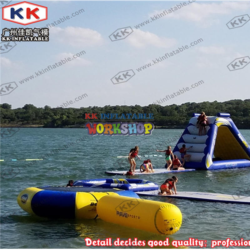Beach Island Inflatable Water Park