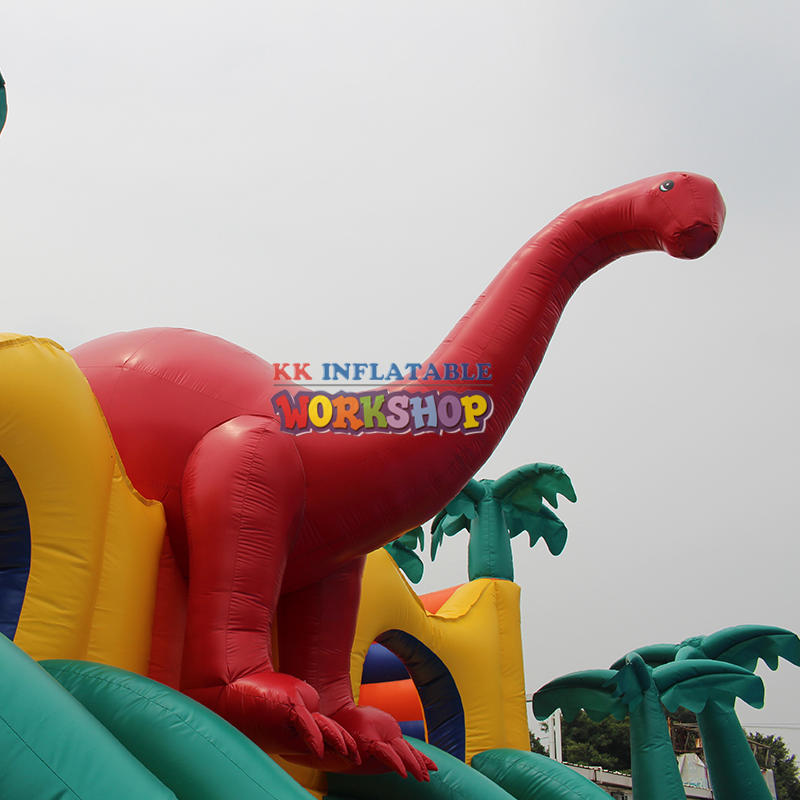 Jurassic Inflatable Dinosaur Water Park