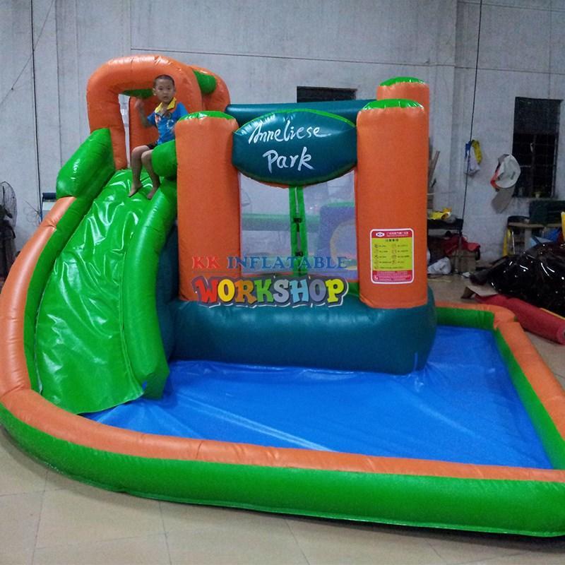 cartoon kids inflatable water park animal modelling for seaside KK INFLATABLE