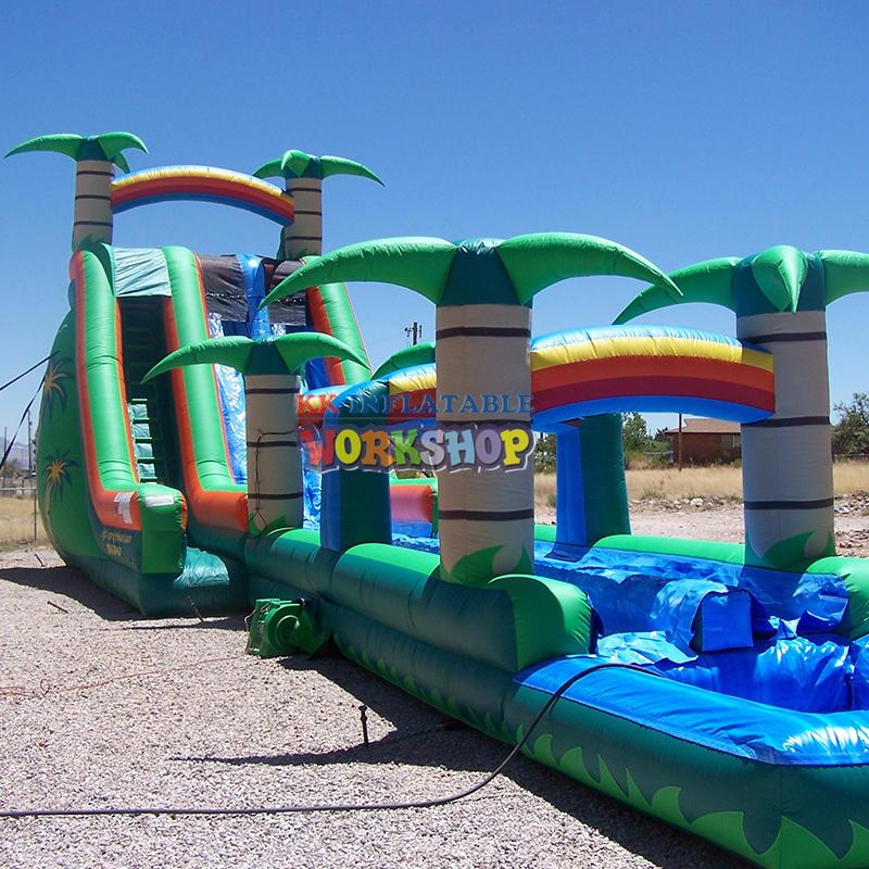Custom inflatable water slide