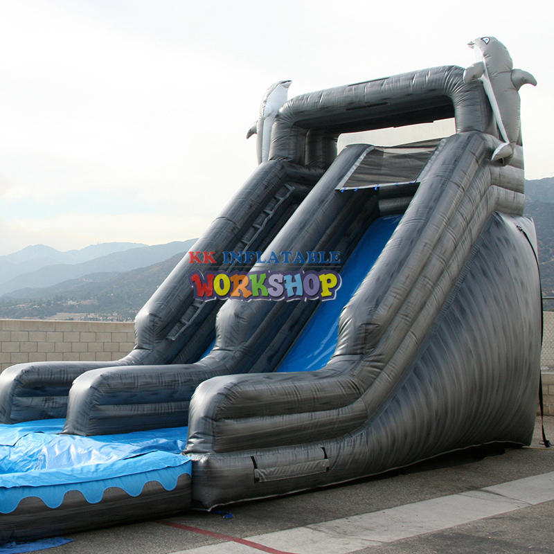 Chinese factory inflatable water slide