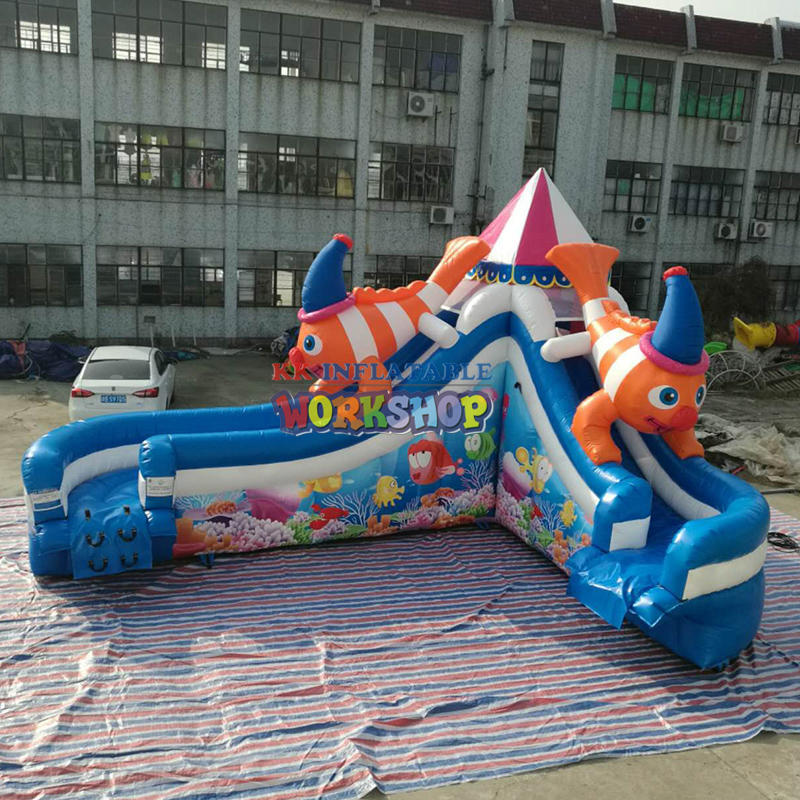inquiry Inflatable water slide