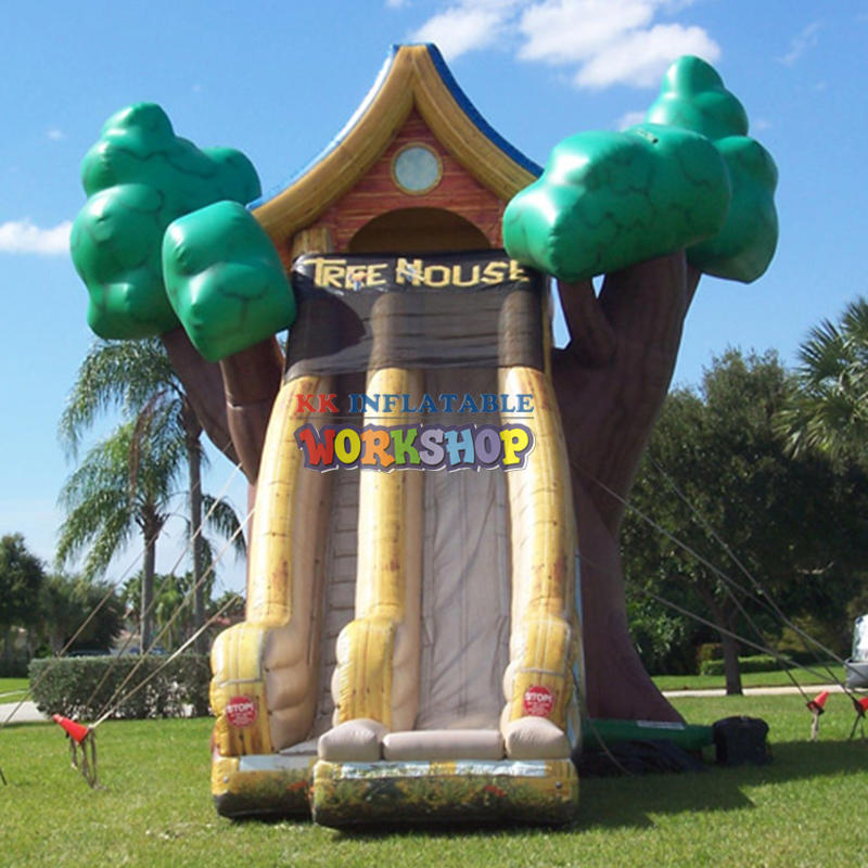 Inflatable water slide data