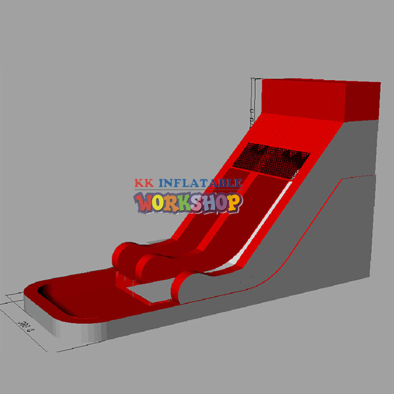 Well Designed Large Residential Inflatable Pool Slide Inflatable Water Slides For Kids