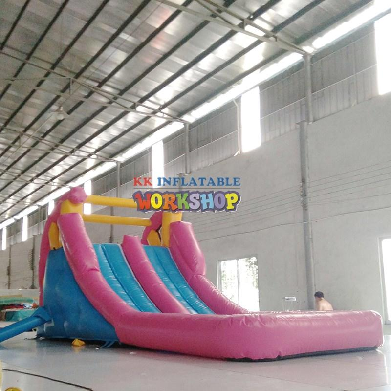 cheap water slides PVC for parks KK INFLATABLE
