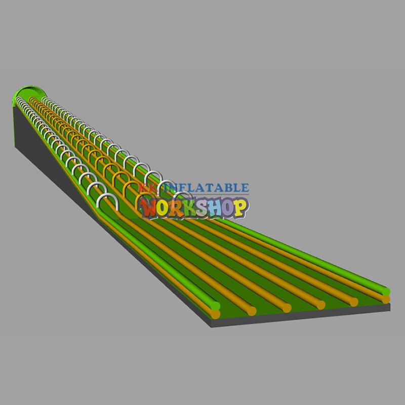 Long inflatable water slide the city for commercial for slip n slide