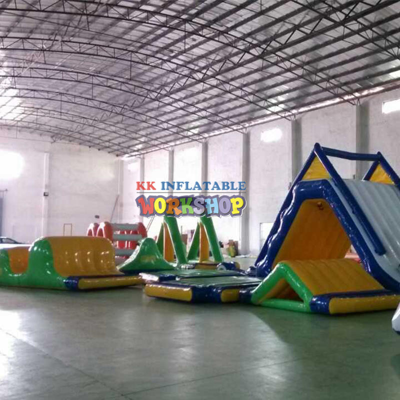 Inflatables water park price Huge inflatable floating island Park for water game
