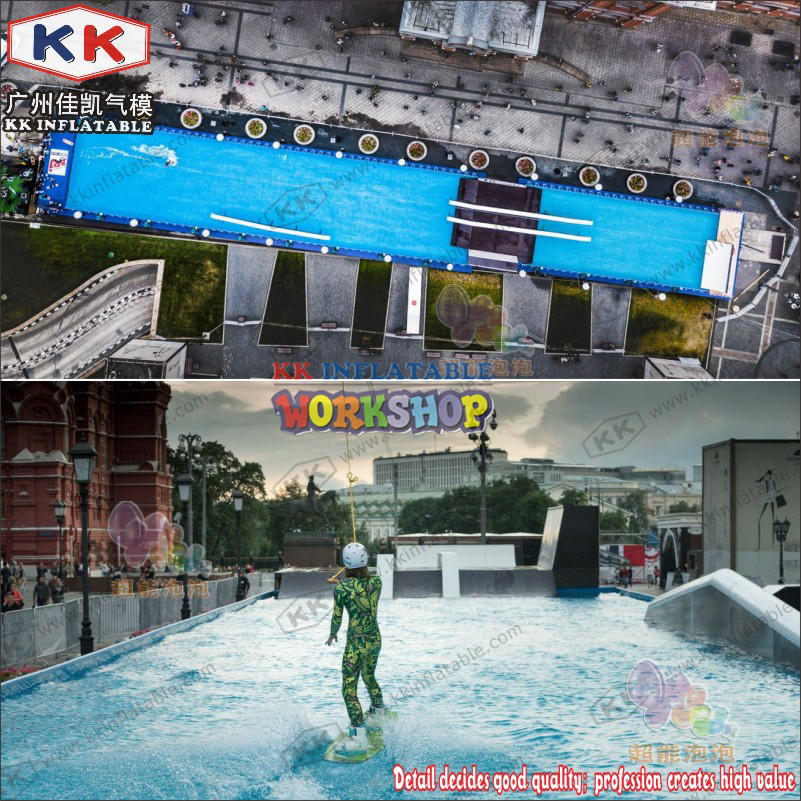 Portable PVC Rectangular Metal Frame Swimming Pool