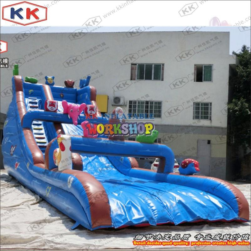 KK INFLATABLE giant inflatable water slide for paradise