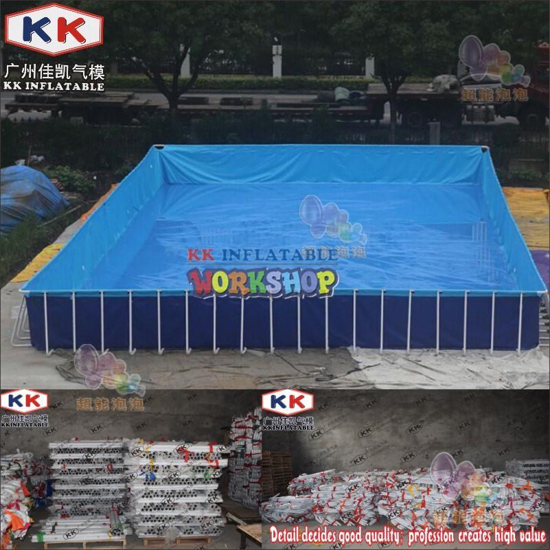 KK INFLATABLE durable kids inflatable water park multichannel for seaside