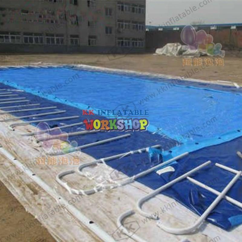 kids inflatable water park rainbow for paradise KK INFLATABLE
