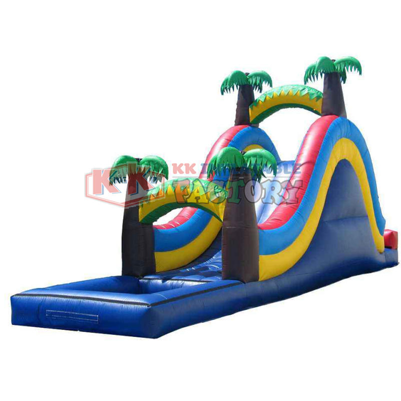 Environmentally friendly PVC inflatable water slide paradise
