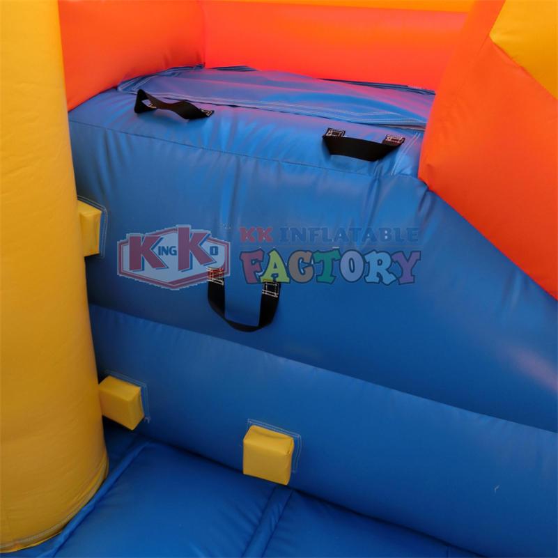 Indoor water park equipment inflatable mini water slide