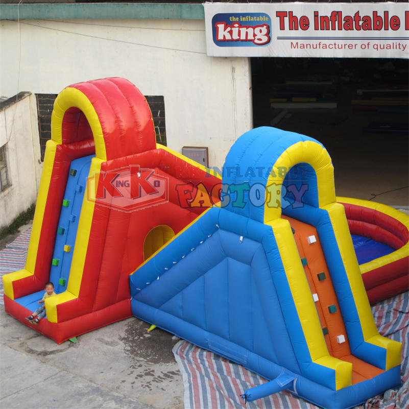 Family small inflatable water slide
