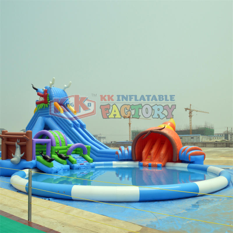 China inflatable water park