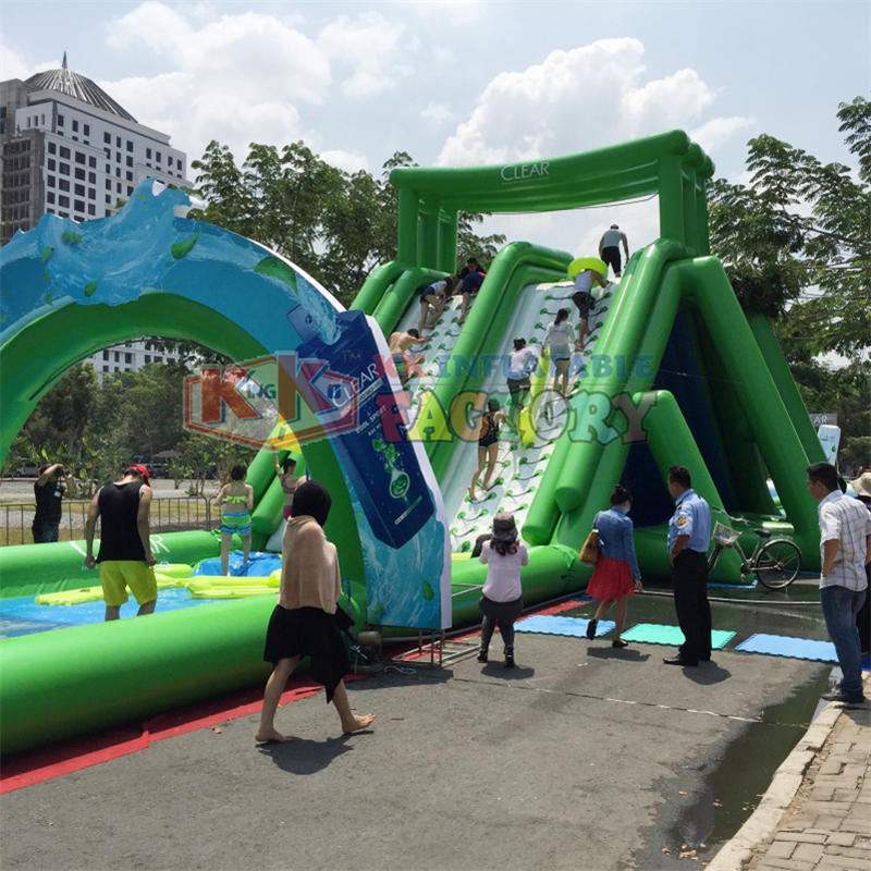 giant inflatable commercial inflatable water slide