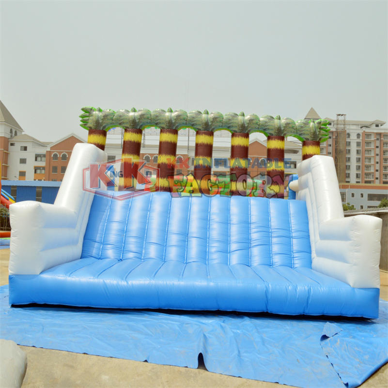 Inflatable Water Amusement Park Pool With Slide