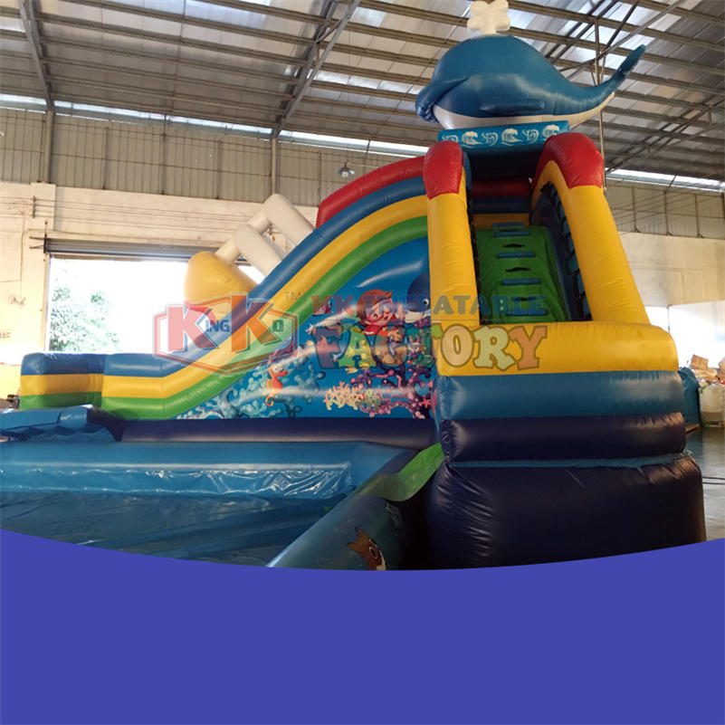 Large inflatable slide manufacturers
