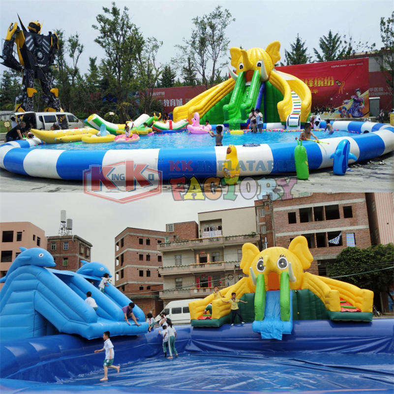 Inflatable pool paradise wholesale