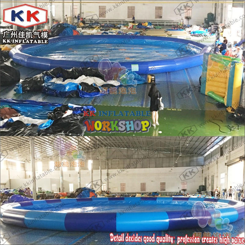 Inflatable round large pool for sale