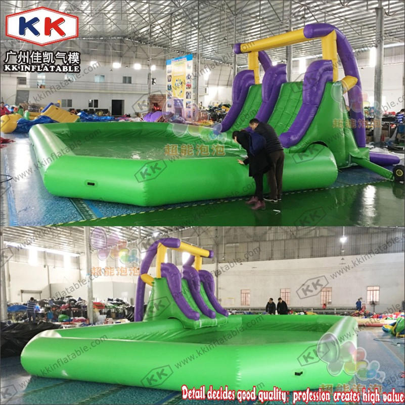 Inflatable pool sports game