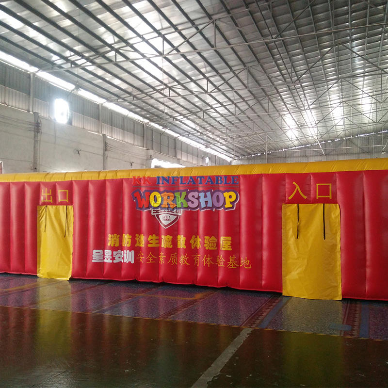 Inflatable Emergency Escape Experience Hall