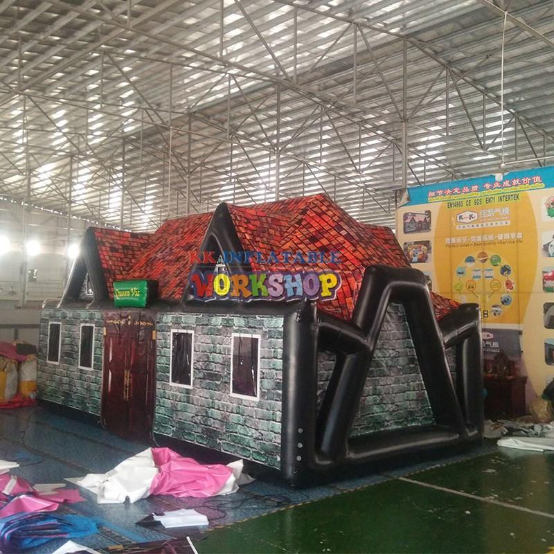 KK INFLATABLE colorful inflatable dome tent wholesale for ticketing house