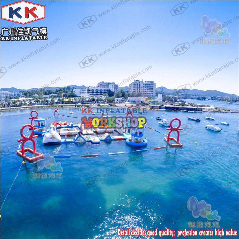inflatable water attraction