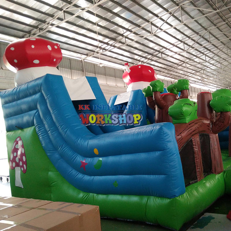 inflatable dry playground