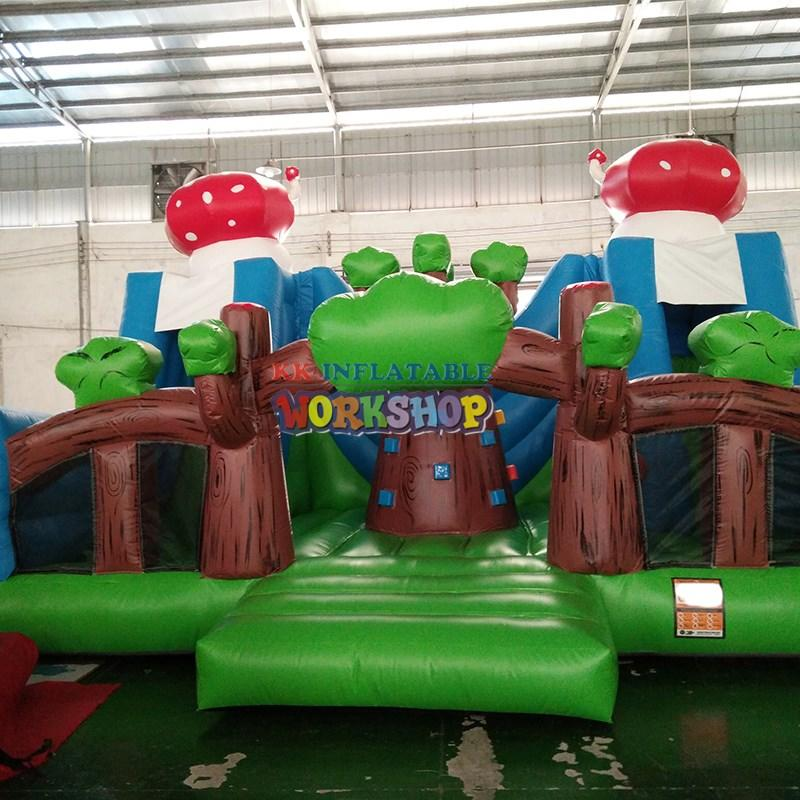 slide pool inflatable playground manufacturer for party