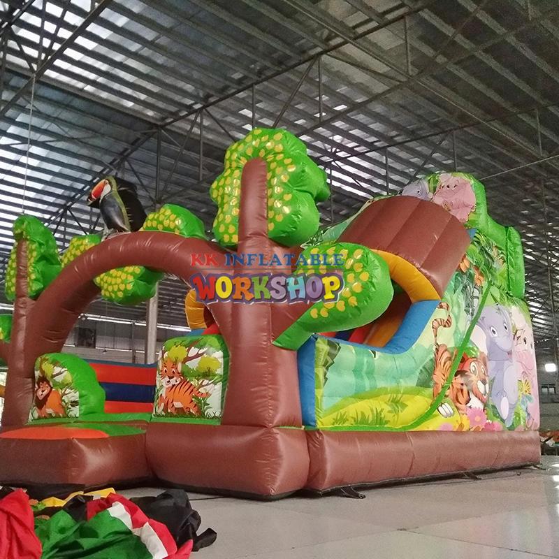 inflatable playground