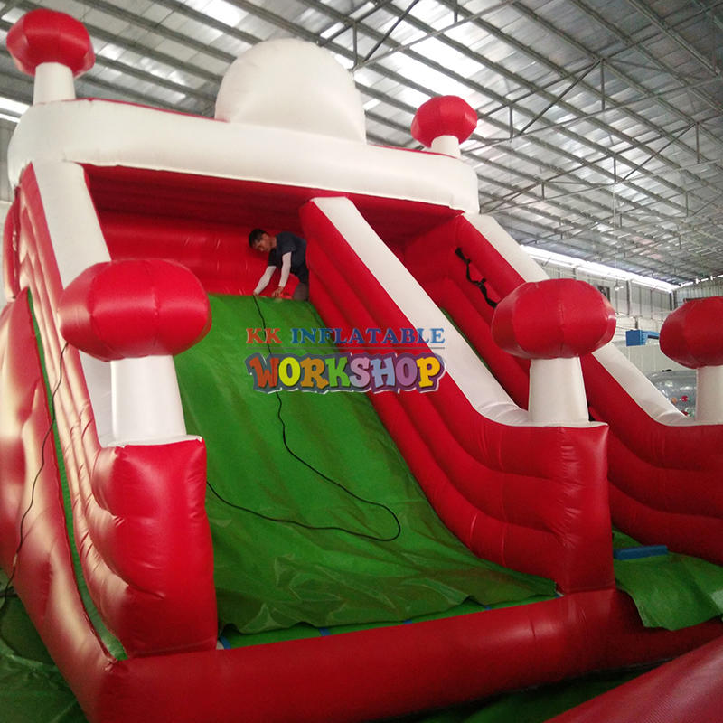 inflatable bounce with slide