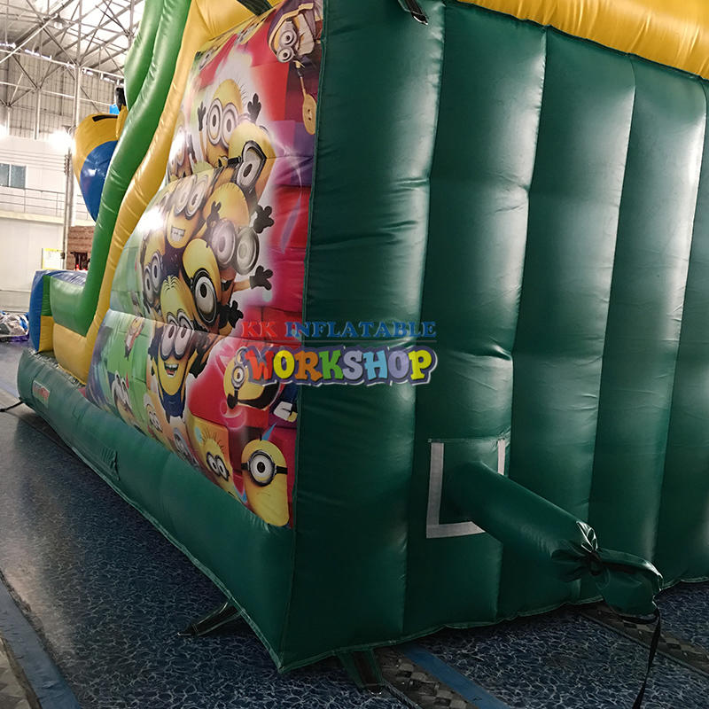 inflatable land park