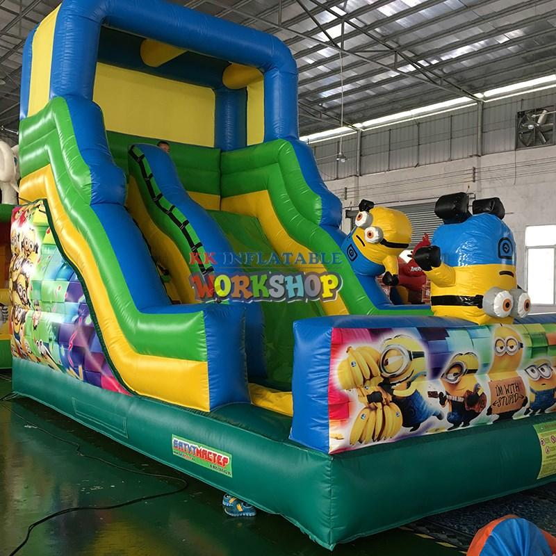 KK INFLATABLE commercial inflatable play center colorful for playground