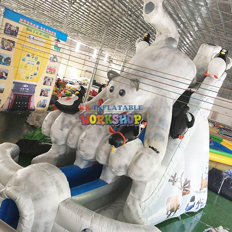 KK INFLATABLE commercial inflatable playground combo for kids