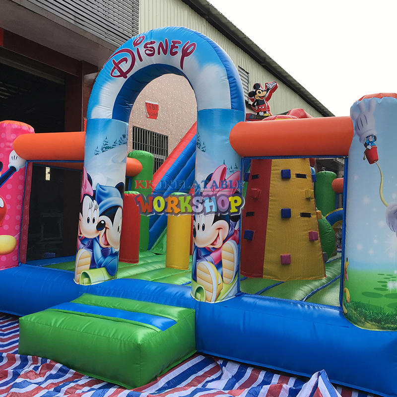 inflatable bouncer combo