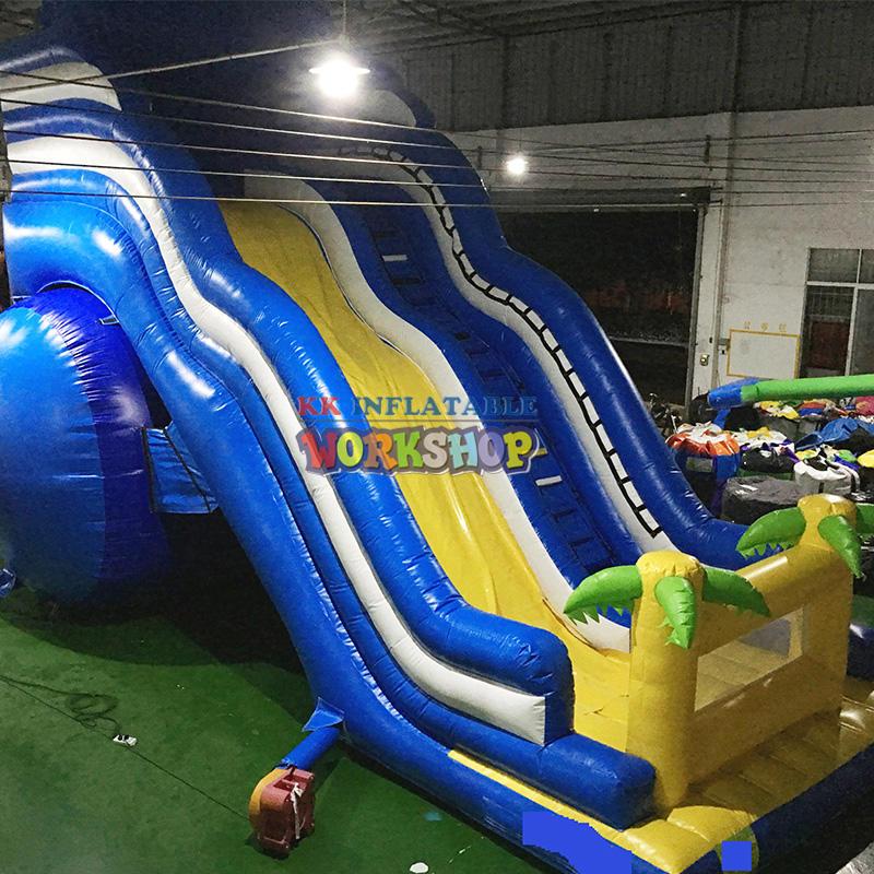 inflatable slide combo