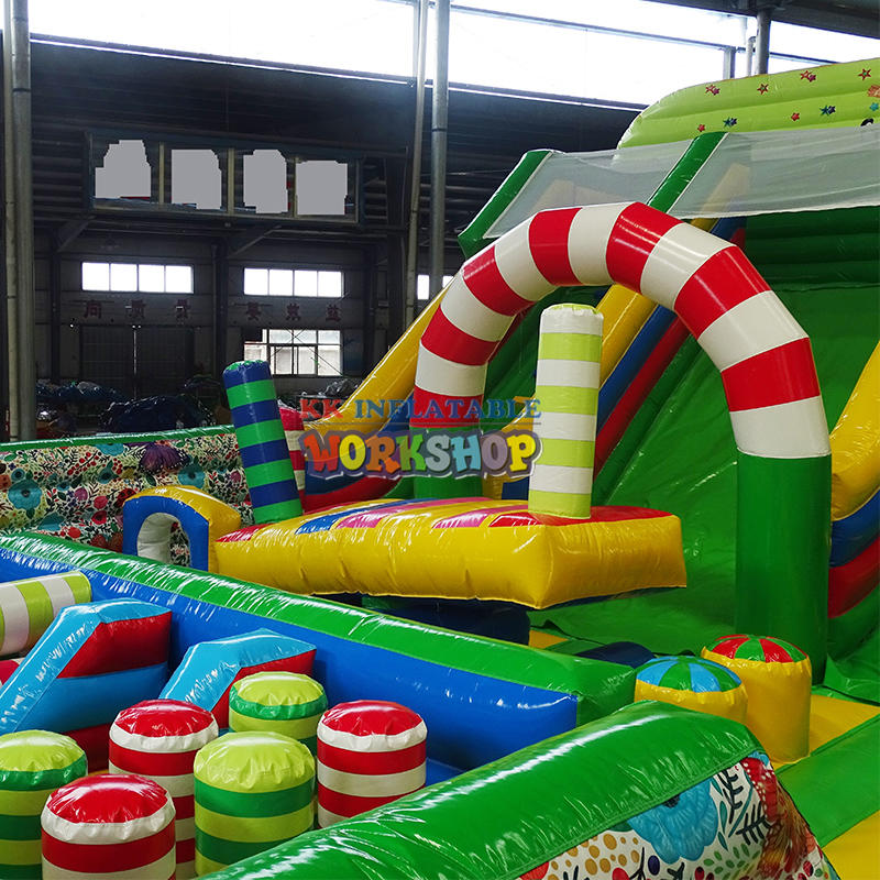 Inflatable Attractive Slide Bouncer