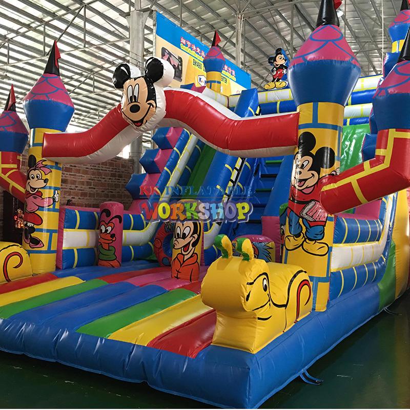 Inflatable Cartoon Bouncy Castle