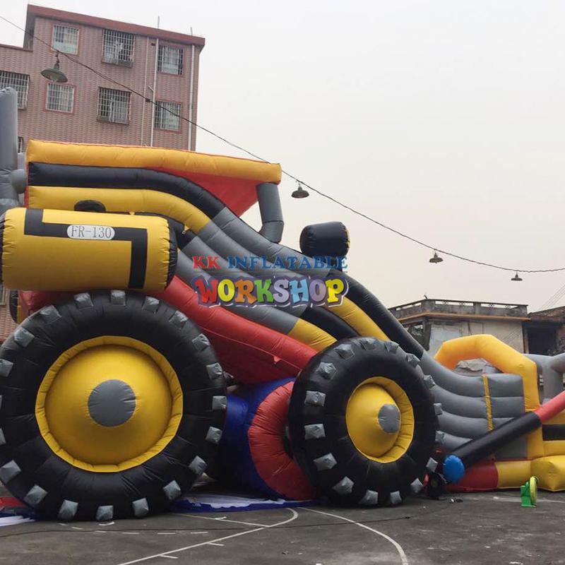 inflatable car slide