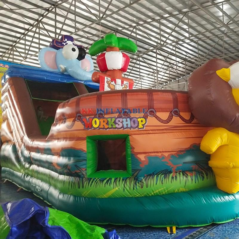KK INFLATABLE quality inflatable playground various styles for playground