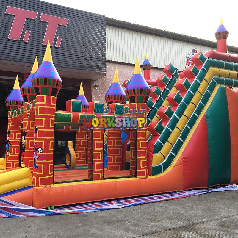inflatable playground china