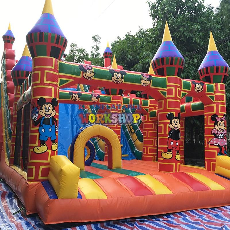 KK INFLATABLE quality inflatable play center colorful for kids