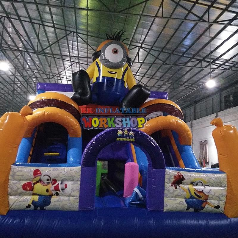 KK INFLATABLE quality inflatable playground various styles for party