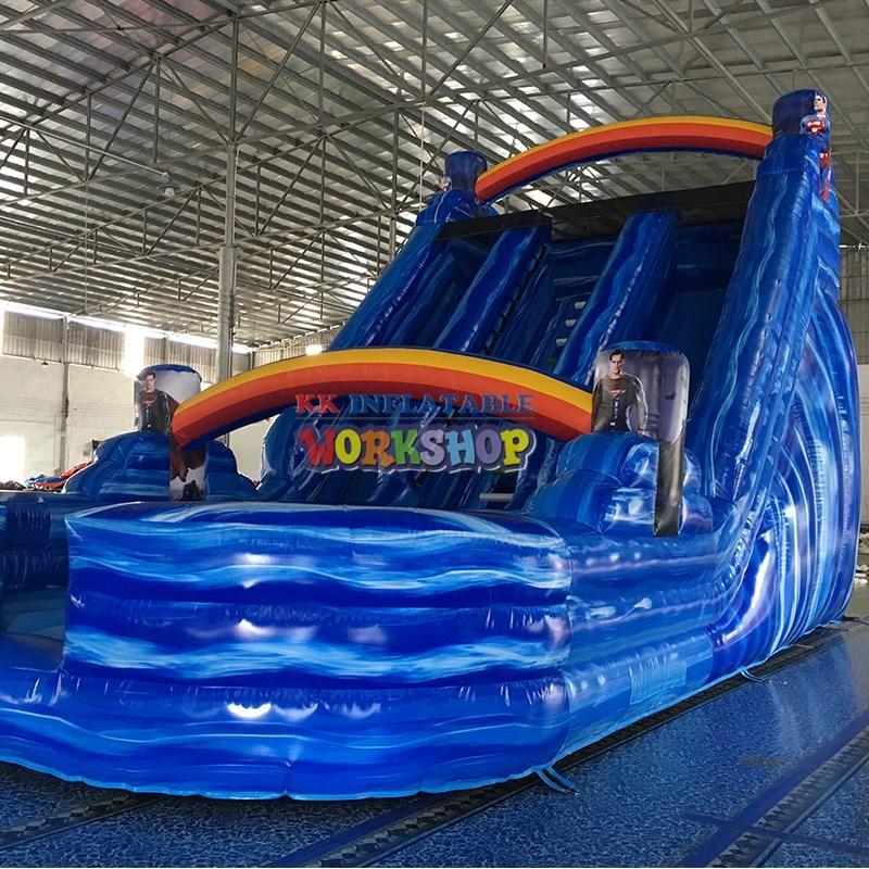 tarpaulin inflatable playground castle for amusement park KK INFLATABLE